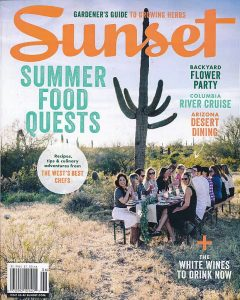 Sunset Magazine, June 2017