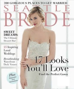Seattle Bride Magazine, Spring 2016
